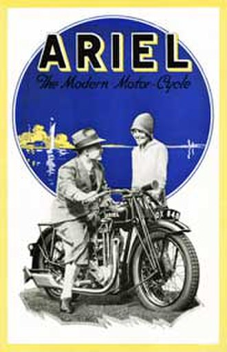 Ariel Motorcycles - 1928 brochure for the British motorcycle