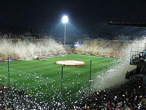 Kleanthis Vikelidis Stadium - Image: Aris Atletiko 2010