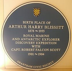 Photo of Arthur Harry Blissett blue plaque