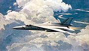Artist Concept of F-111 1980