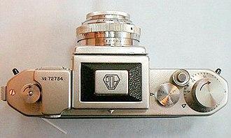 Asahiflex - Image: Asahiflex I Ib Model I 2