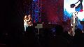 Ashley Brown and Josh Strickland at Epcot's Arts Festival (32052729510).jpg