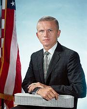Astronaut Frank Borman