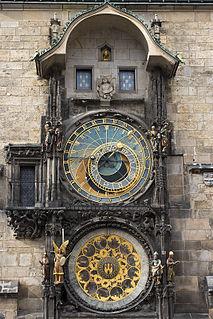 Prague astronomical clock Astronomical Clock in Prague, Czech Republic