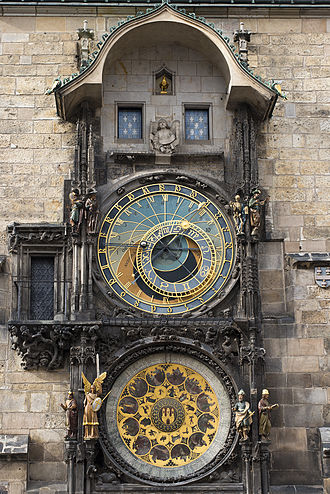 Prague astronomical clock - Prague astronomical clock