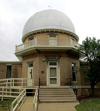 Astronomical Observatory (University of Illinois at Urbana–Champaign) - Image: Astronomical Observatory University of Illinois at Urbana Champaign from north