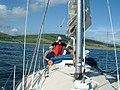 At anchor in Ettrick Bay - geograph.org.uk - 117672.jpg