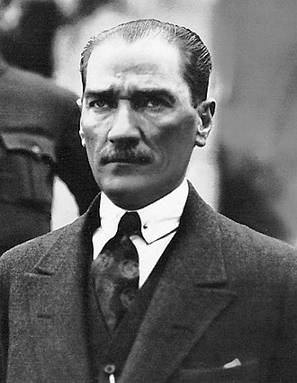 Turkish general election, 1923 - Image: Ataturk in 1923