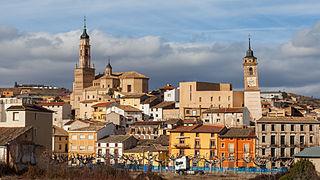 Ateca Place in Aragon, Spain