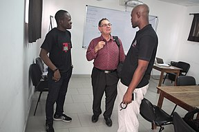 Atelier d'écriture - Wikipédia - WLA2019 Bénin 12.jpg