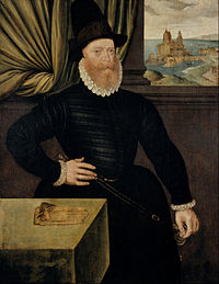 Attributed to Arnold Bronckorst - James Douglas, 4th Earl of Morton, about 1516 - 1581. Regent of Scotland - Google Art Project.jpg