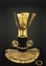Chimú gold adornments, 1300 AD