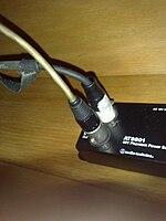 Universelles 48 V Phantomspeisung für Audioaufnahmen von Kondensatormikrofonen