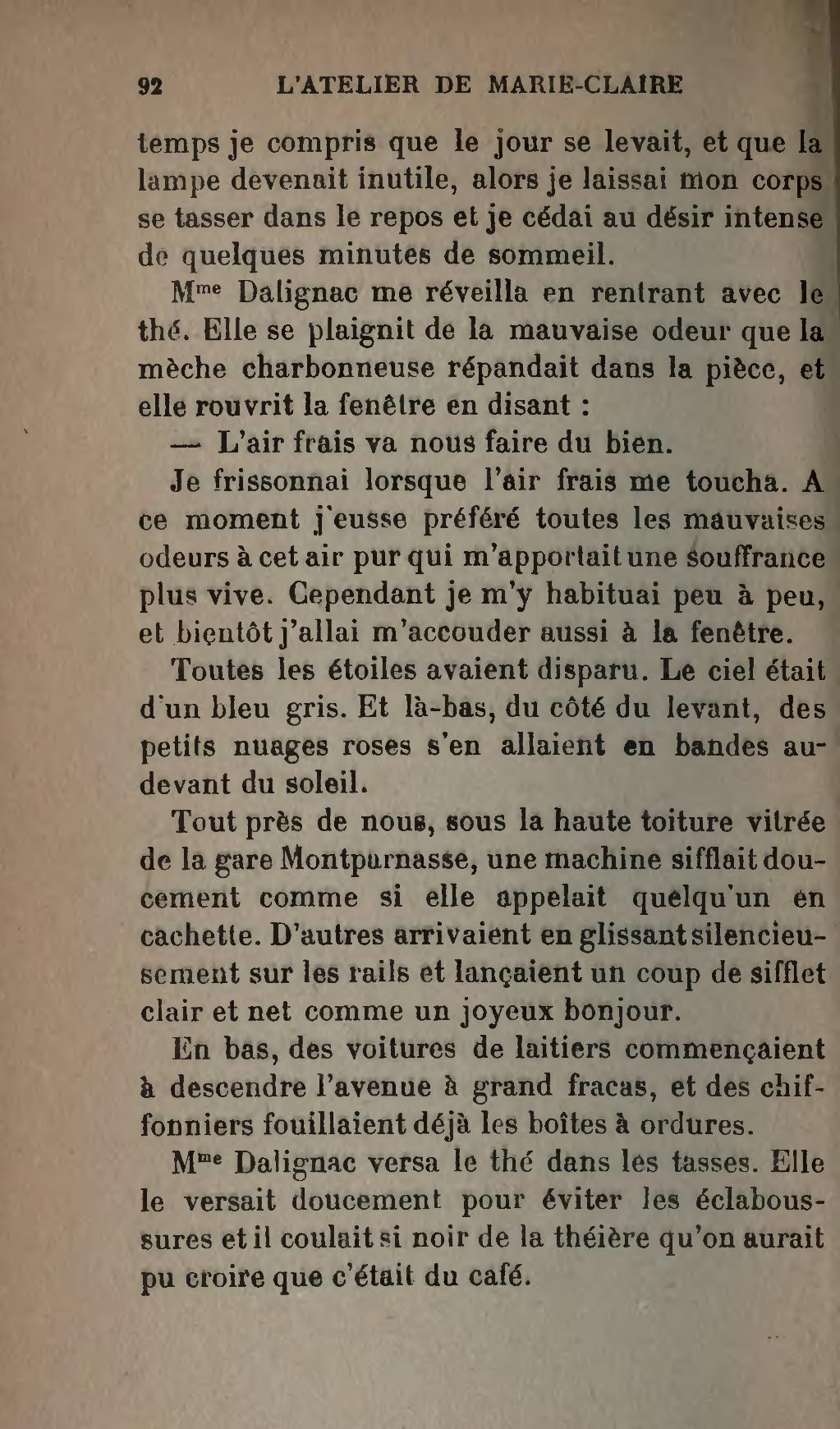 Page:Audoux - L Atelier de Marie Claire.djvu/102 - Wikisource- Wikisource