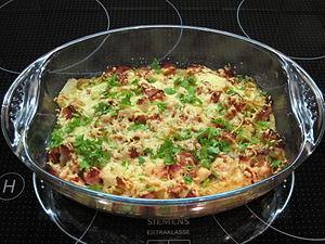 Kohlrabi dish