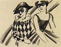 August Macke Pierrot und Taenzerin 1912.jpeg