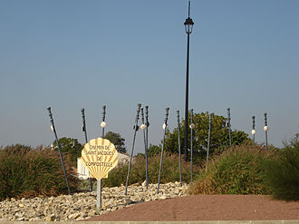 Aulnay, Charente-Maritime - The entry to Aulnay on the D133 coming from Néré