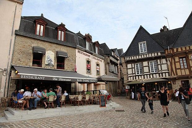 Monument historique à Auray