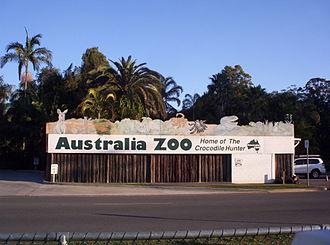 Australia Zoo - Australia Zoo entrance