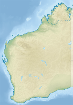 Mount Beadell is located in Western Australia