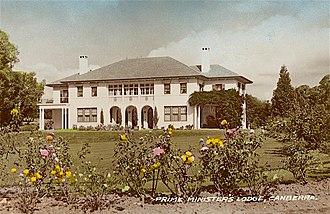 The Lodge (Australia) - Prime Minister's Lodge, Canberra, 1930s