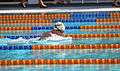 Australian swimmer breaststroke at 1992 Paralympic Games.jpg