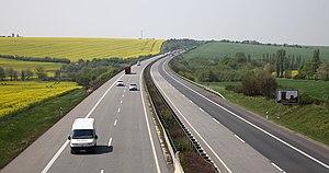 Bundesautobahn 38 - A 38 in Eichsfeld County