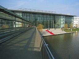 Stadtbrücke in Wolfsburg