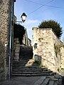 Auvers-sur-Oise - Escalier de l eglise 01.jpg