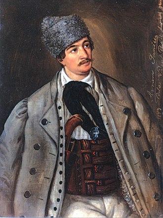 Avram Iancu - Avram Iancu - portrait by Barbu Iscovescu