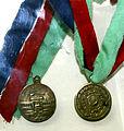 Azərbaycan Parlamentinin açılışı münasibəti ilə hazırlanmış medal.JPG