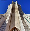 Azadi Tower close-up, Tehran, Iran.jpg