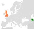 Azerbaijan United Kingdom Locator.png