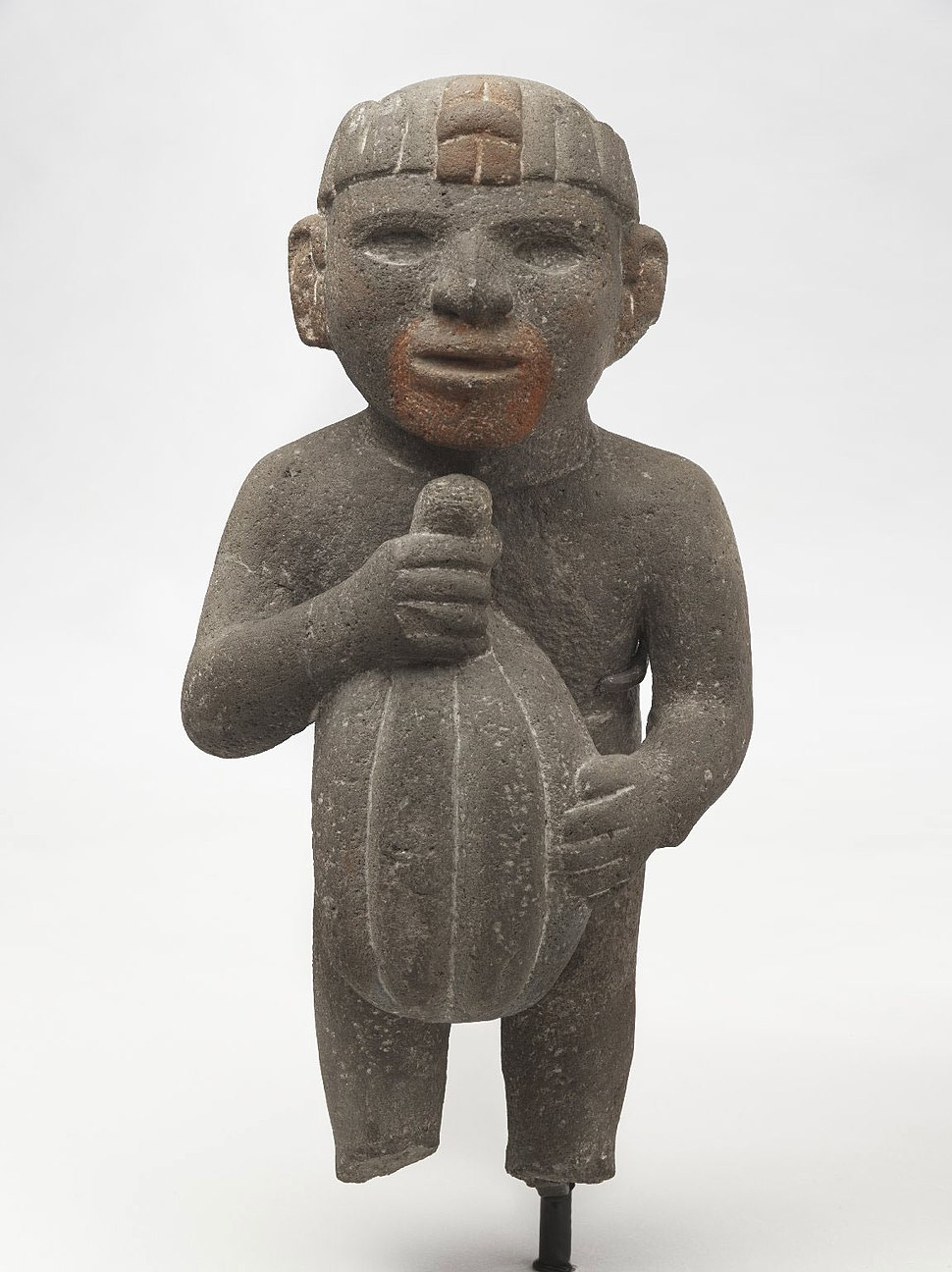 Aztec. Man Carrying a Cacao Pod, 1440-1521