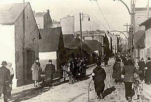 Będzin Ghetto - Będzin Ghetto in the Holocaust, Modrzejowska Street, 1942