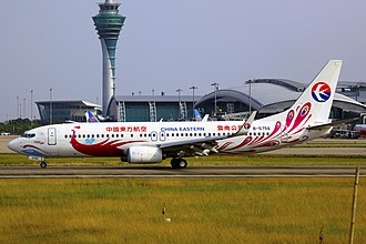 China Yunnan Airlines - China Eastern Yunnan Airlines Boeing 737-800 in Purple Peacock Livery in 2013