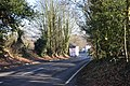 B1029, Colchester Road towards the village, Dedham - geograph.org.uk - 1191136.jpg