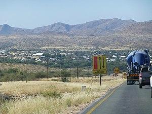B2 road (Namibia) - B2 at Arandis