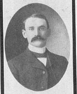 B. N. Wilson - Wilson pictured in a 1908 University of Arkansas publication