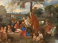 BOURDON Sébastien 1660c Le repos de la Sainte Famille.jpg