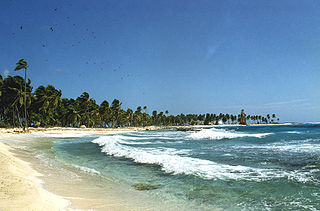 Half Moon Caye island in Belize