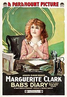 <i>Babs Diary</i> 1917 film by J. Searle Dawley