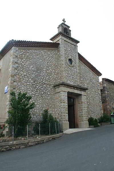 Babeau-Bouldoux (Hérault) - église de l'Assomption-de-Notre-Dame
