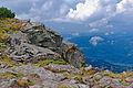 Babia Góra – na szczycie Gówniaka widok w kierunku Zawoi.jpg