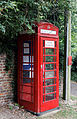Back lane corner box north of church Barfrestone Kent England.jpg
