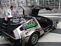 Back to the Future II Delorean rear (5134039427).jpg
