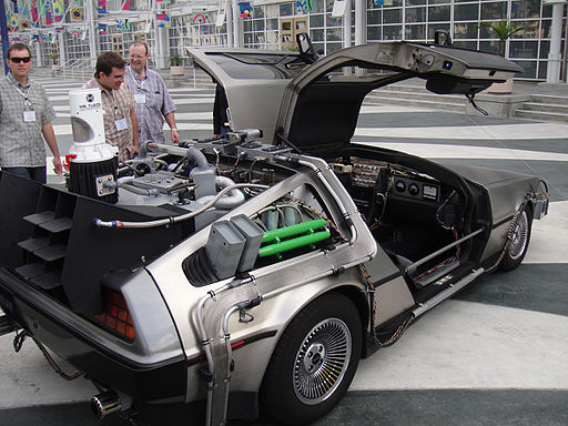 Back to the Future II Delorean rear (5134039427)