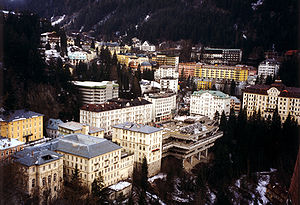 Bad Gastein - Town centre
