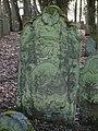 Bad Rappenau - Heinsheim - Jüdischer Friedhof - Grabstein mit Rocaille 2.jpg