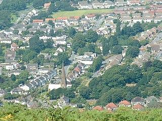 Baglan, Neath Port Talbot Human settlement in Wales